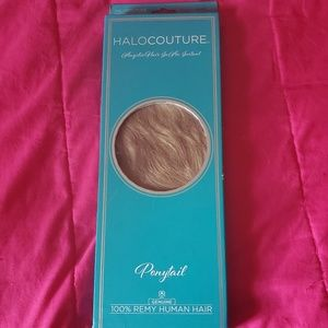 Halocotoure ponytail extension